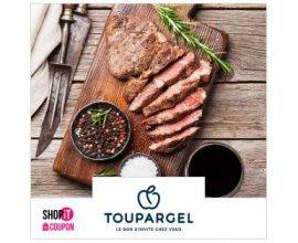Showroomprive: Payez 5€ pour 40% de remise chez Toupargel