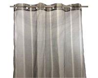 Alinéa: Voilage à œillets 140x260cm gris anthracite à 14,99€ au lieu de 24,99€