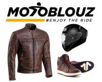 Motoblouz: - 15€ dès 120€, - 25€ dès 200€ et - 50€ dès 300€ d'achat d'équipement moto