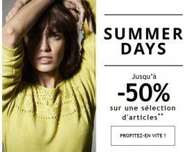 1.2.3: [Summer Days] Jusqu'à -50% sur une sélection d'articles