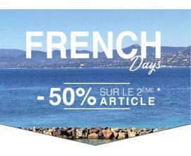 IZAC: [French Days] -50% sur le 2ème article acheté de la collection Printemps-Été 2018