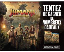 "BFMTV: 20 Blu-ray & 60 DVD du film ""Jumanji"" à gagner"
