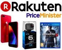 Rakuten-PriceMinister: 10 à 30% de votre commande remboursée