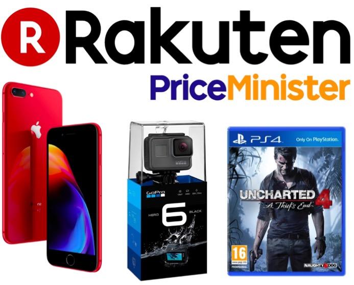 Code promo Rakuten : 10 à 30% de votre commande remboursée