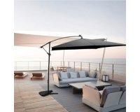Brico Privé: Parasol deporte à LED bulle - 180 g/m² - 3 x 3 m - gris à 169,99€ au lieu de 450€