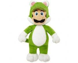 Auchan: 67% de réduction sur les Peluches Mario (Ex : Peluche Série 5 Luigi Chat à 4,99€ au lieu de 14,99€)