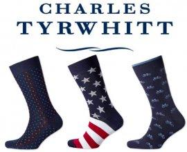 Charles Tyrwhitt: 3 paires de chaussette pour 25€