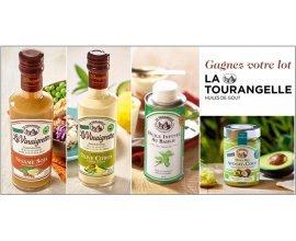 Cuisine Actuelle: 10 lots d'huiles et vinaigrettes La Tourangelle à gagner
