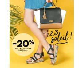 Chaussea: [1, 2, 3 soleil !] -20% sur une sélection de chaussures estivales