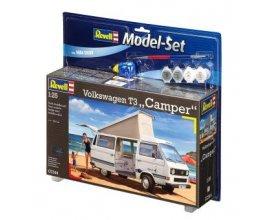 Fnac: Maquette Volkswagen T3 Camper Revell 67344 Model Set 80 pièces à 10,80€ au lieu de 35,99€