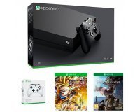 Amazon: Pack Xbox One X 1 To + 2ème manette + Dragon Ball Fighter Z + Monster Hunter World à 499€
