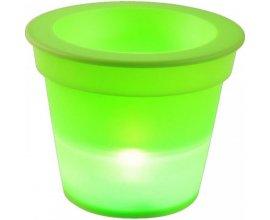 Gifi: Pot lumineux plastiques vert anis à 4,99€