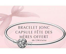 Pandora: Recevez un bracelet Jonc Capsule Fête des Mères Offert dès 129€ d'achat