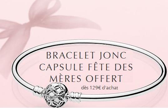Pandora Recevez un bracelet Jonc Capsule Fête des Mères Offert dès 129\u20ac d\u0027