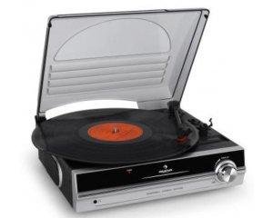 platine vinyle compacte avec couvercle 2 vitesses 33t 45t 49 99 au lieu de 89 90 fnac. Black Bedroom Furniture Sets. Home Design Ideas
