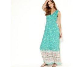 Camaïeu: Robe longue sans manches imprimée à 30€ au lieu de 45,99€