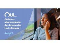 OUI.sncf: Toutes les cartes SNCF à 29€