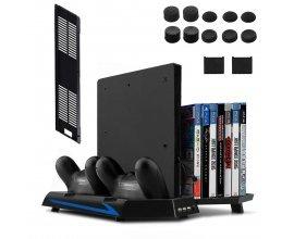 Amazon: Ventilateur pour PS4 Slim / PS4 Support Vertical Stand 2 en 1 Keten à 23,99€ au lieu de 35,99€