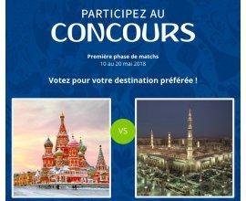 Go Voyages: 1 vol aller-retour pour 2 personnes vers la destination de votre choix à gagner
