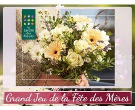Femme Actuelle: Fête des mères: 30 bouquets Le jardin des fleurs à gagner