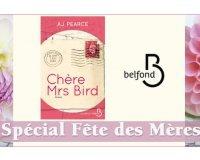 """Serengo: Fête des mères: 20 romans """"Chère Mrs Bird"""" à gagner"""