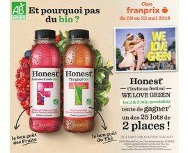Franprix: A gagner de nombreuses places pour le festival We Love Green à Paris