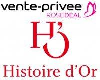 Vente Privée: Rosedeal Histoire d'Or : dépensez 30€ pour 60€ de bon d'achat