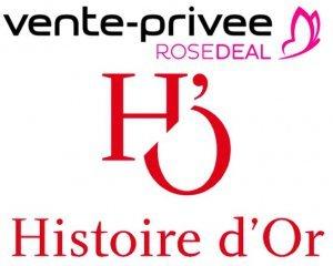 Vente Privée: [Rosedeal] Payez 30€ le bon d'achat Histoire d'Or d'un montant de 60€