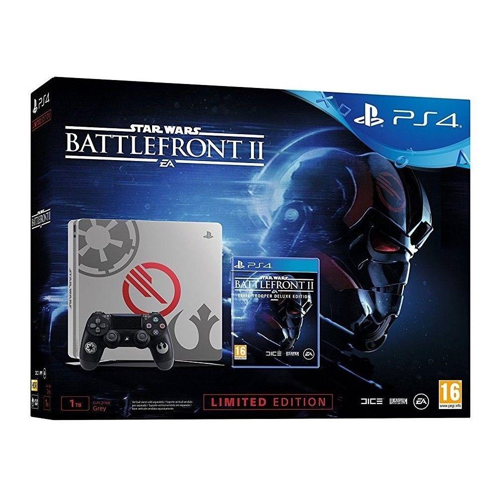 Code promo eBay : PS4 slim 1To édition limitée + Jeu Star Wars BattleFront II à 339,95€ au lieu de 399,95€