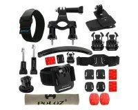MacWay: Kit Accessoire 24 en 1 GoPro Hero 2 3 4 5 Fixation vélo moto poignet à 23,49€ au lieu de 34,99€
