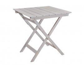 Delamaison: Table de jardin pliante en acacia gris Fsc Silverwood à 54,90€ au lieu de 79€