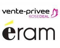 Vente Privée: Rosedeal ERAM : Payez 5€ le code offrant 40% de réduction sur votre commande