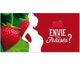 Chapeau de paille : 2kg de fraises gratuites pour les femmes enceintes