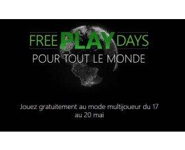 Xbox: XBOX Live gratuit du 17 au 20 mai