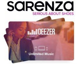Sarenza: 3 ans de musique en illimité et 1000€ de chaussures à gagner