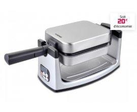 Gifi: Gaufrier rotatif E.Zichef Family Gaufre revêtement céramique à  39,90€ au lieu de  59,90