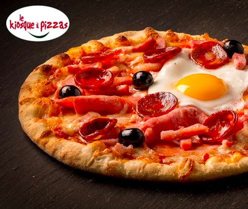 Code promo Groupon : Pour 1€ une pizza achetée = une pizza offerte chez Le Kiosque à Pizzas