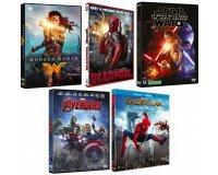 Amazon: 3 films en DVD achetés parmi une sélection = le 4ème et le 5ème offerts
