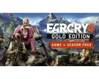 Playstation: Jeu PS4 Far Cry 4 - Gold Edition à 17,99€ au lieu de 49,99€