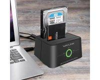 AliExpress: Station D'accueil pour Disque Dur 2.5/3.5 pouces HDD/SSD Wavlink à 22,76€ au lieu de 34,49€