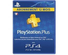 Auchan: Abonnement Playstation Plus - 1 an PS Plus à 44,99€ au lieu de 59,99€
