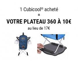 Nature et Découvertes: 1 Cubicool acheté = votre plateau 360 à 10€ (au lieu de 17€)
