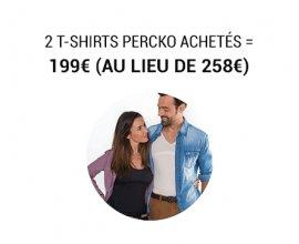 Nature et Découvertes: 2 T-shirts PERCKO achetés = 199€ (au lieu de 258€)