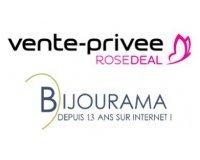 Vente Privée: Rosedeal Bijourama : payez 40€ le bon d'achat de 80€