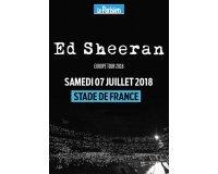 Le Parisien: 7 × 2 places à gagner pour le concert d'Ed Sheeran le 07/07 au Stade de France