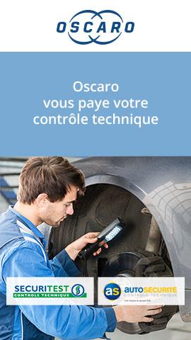 Code promo Oscaro : Un contrôle technique à gagner