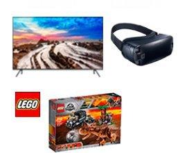 Orange: 1 TV Samsung, des casques VR, des boites de Lego Jurassic World 2 et des goodies du film à gagner
