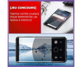 SFR: Un Nokia 8 Sirocco à gagner