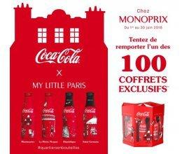 Instants Plaisir: 100 coffrets exclusifs Coca-Cola à gagner (jeu avec obligation d'achat)