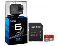 eBay: Caméra GoPro Hero 6 Ultra HD Black + carte micro SD 32 Go + adaptateur à 329€